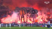 Ligue 1. Olympique Marsylia - PSG. Efektowna oprawa kibiców. WIDEO (Eleven Sports)