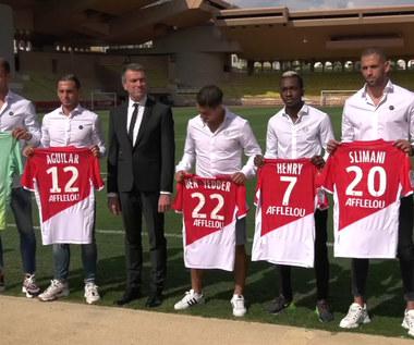 Ligue 1. Pięć transferów Monaco. Uratują ich przed spadkiem? Wideo