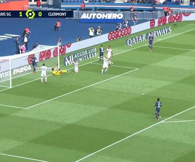 Ligue 1. PSG - Clermont 4-0 - SKRÓT. WIDEO (Eleven Sports)