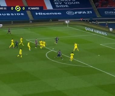 Ligue 1. PSG - Nantes 1-2 skrót meczu (ELEVEN SPORT). Wideo
