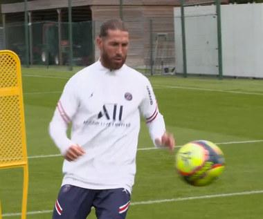 Ligue 1. Sergio Ramos odbył pierwszy trening w PSG. Wideo