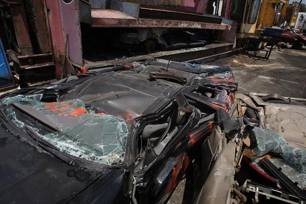 Likwidacja szkody samochodowej wielkim polem do nadużyć /AFP