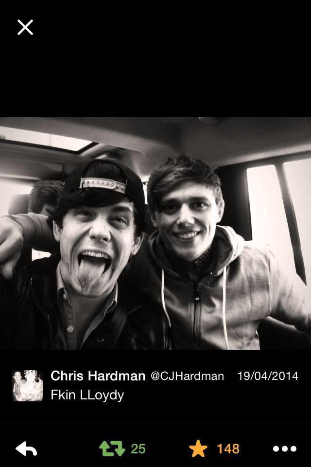 Lil' Chris (z lewej) i  Lloyd Wilkinson /Instagram /internet