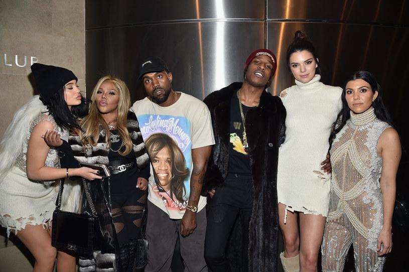 Lil Kim (druga po lewej, obok Kylie Jenner) /Getty Images
