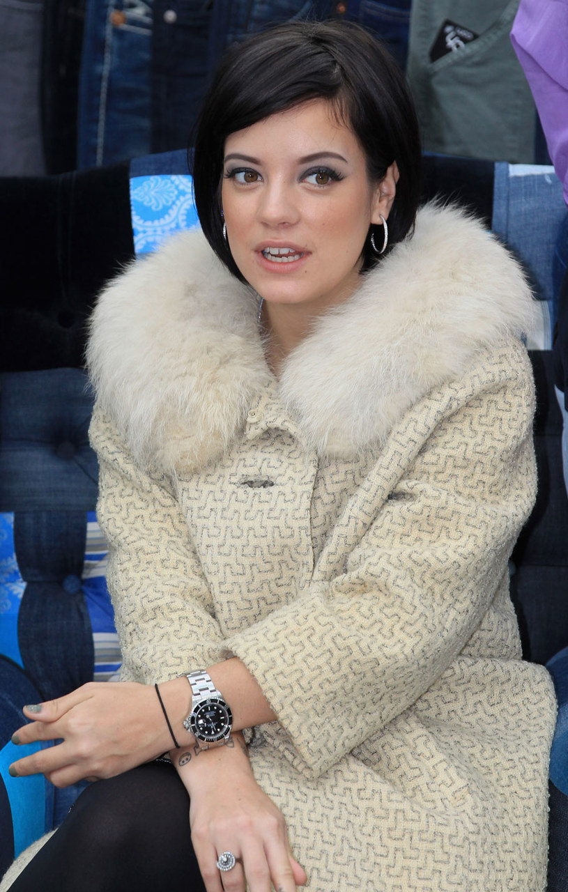 Lily Allen /Getty Images