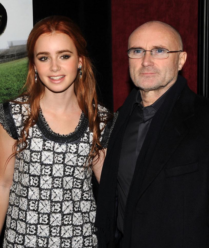 Lily Collins wybaczyła ojcu /Stephen Lovekin /Getty Images