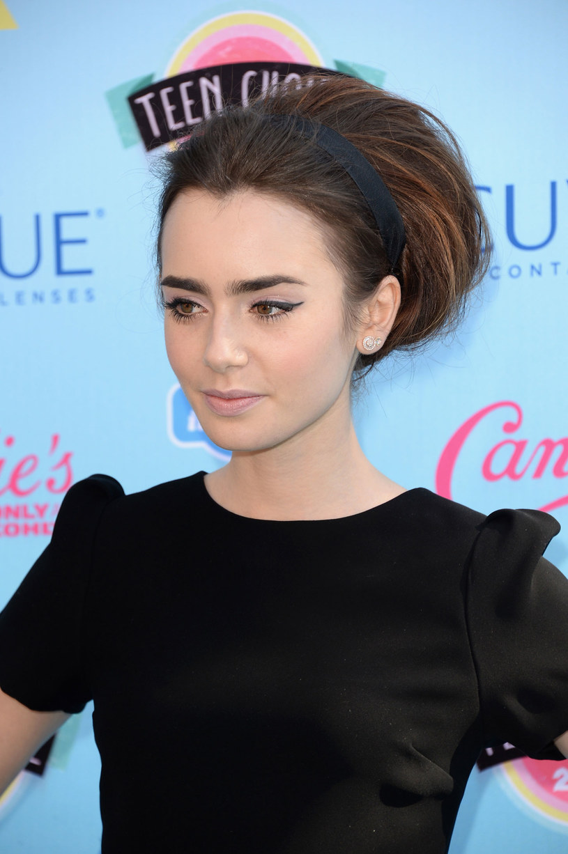 Lily Collins /Getty Images/Flash Press Media