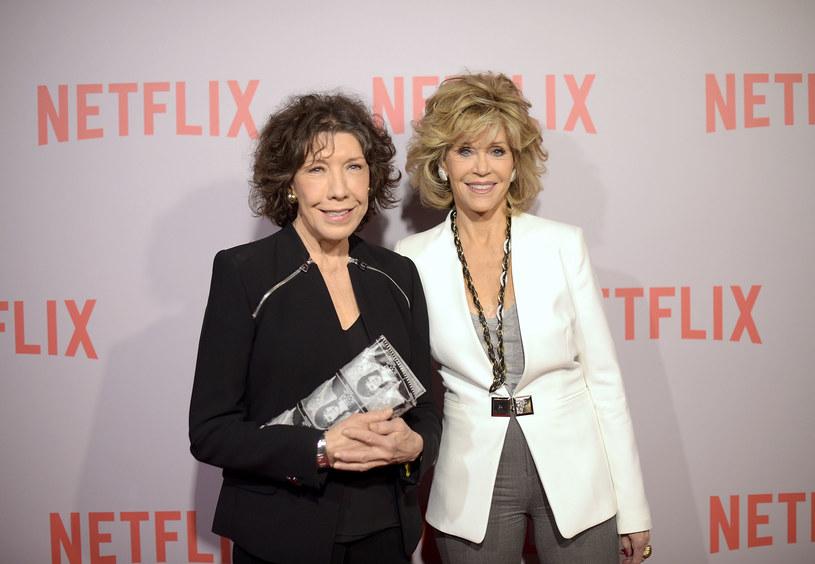 Lily Tomlin oraz Jane Fonda /Jason Kempin /Getty Images