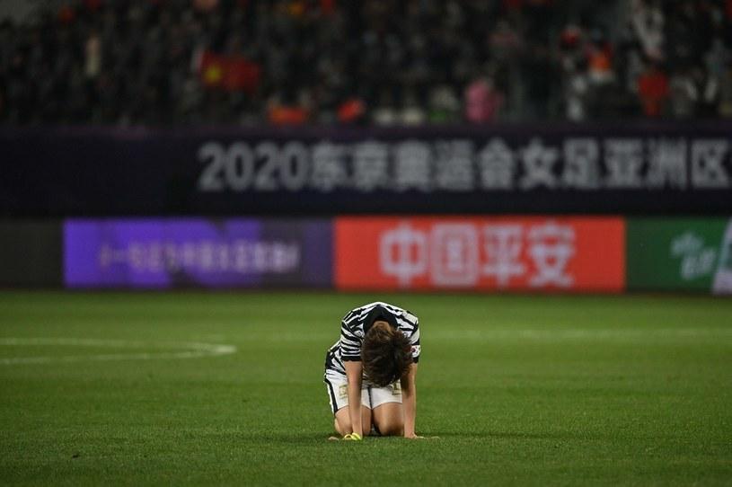 Lim Seon-joo z Korei Południowej po porażce z Chinami w walce o igrzyska w Tokio /HECTOR RETAMAL/AFP /AFP