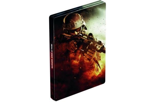 Limitowane metalowe pudełko z wizerunkiem żołnierza GROM /CDA
