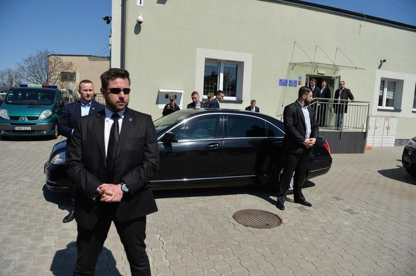 Limuzyna premier Beaty Szydło /Łukasz Kalinowski /East News