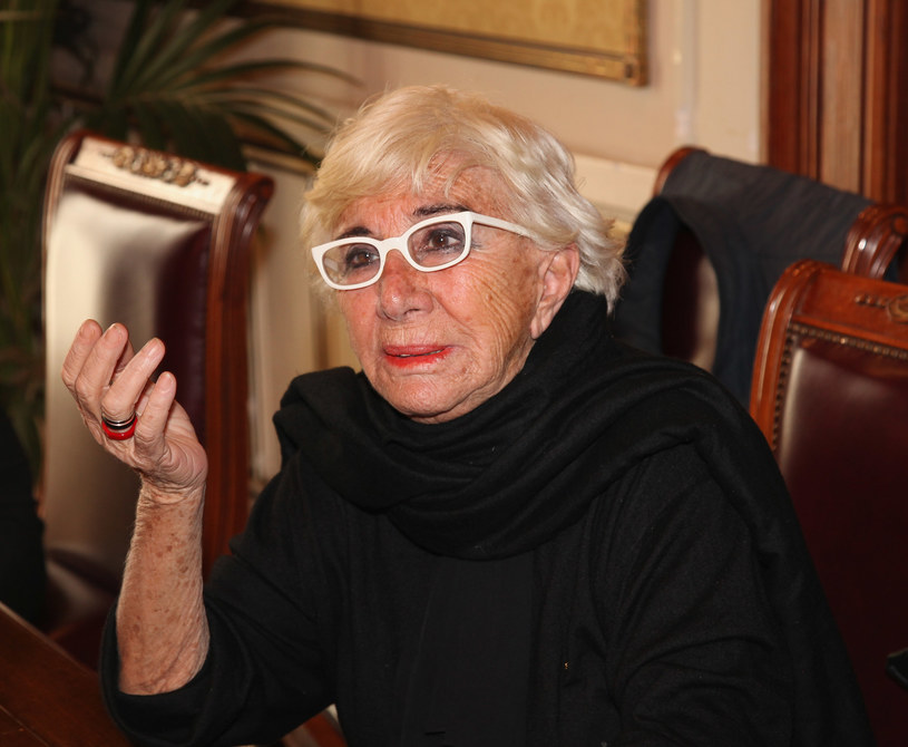 Lina Wertmuller w 2010 roku, fot. Maurizio Lagana /Getty Images
