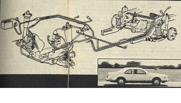 Lincoln Mark VII - pierwszy na świecie seryjnie produkowany samochód z częściowo aktywnym resorowaniem pneumatycznym. Czujniki przy kołach przednich i na osi tylnej podają sygnały o względnym ustawieniu nadwozia i elementów zawieszenia, a mikroprocesor oblicza od tego poprawki ciśnienia w sprężynach pneumatycznych. Drobne nierówności drogi nie są uwzględniane, lecz przyspieszanie, hamowanie i pokonywanie zakrętów powodować już będzie zmiany w ustawieniu nadwozia. /Motor