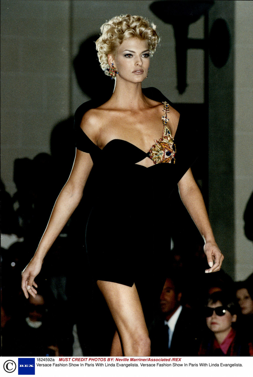 Linda Evangelista to jedna z najpopularniejszych modelek lat 90. /Neville Marriner/Associated/REX/Shutterstock /East News