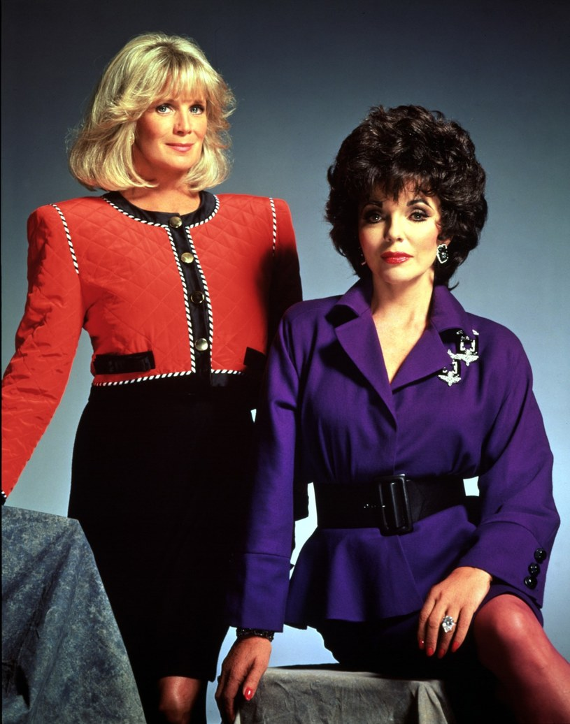 Linda Evans i Joan Collins /East News