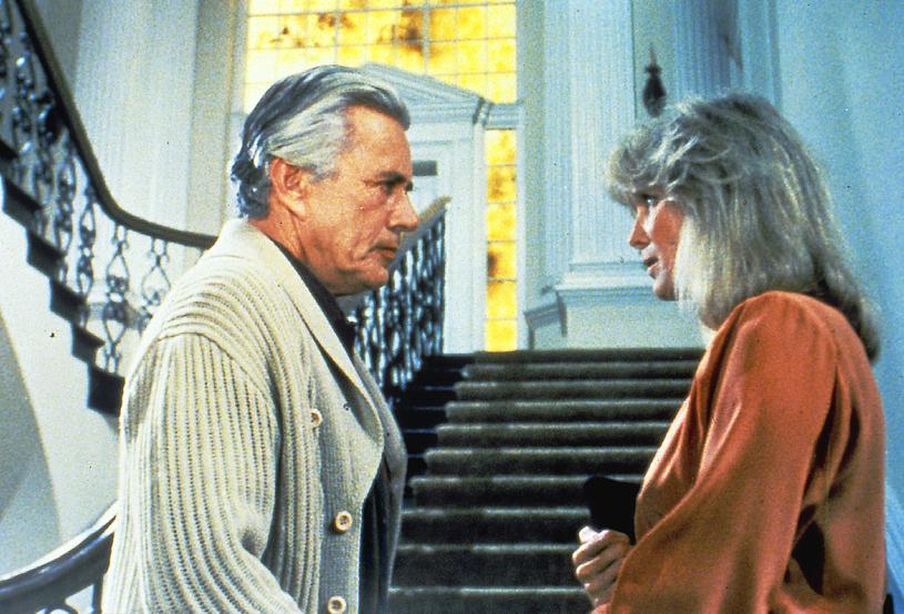 "Linda Evans i John Forsythe w serialu ""Dynastia"" (1981-1989) /AKPA"