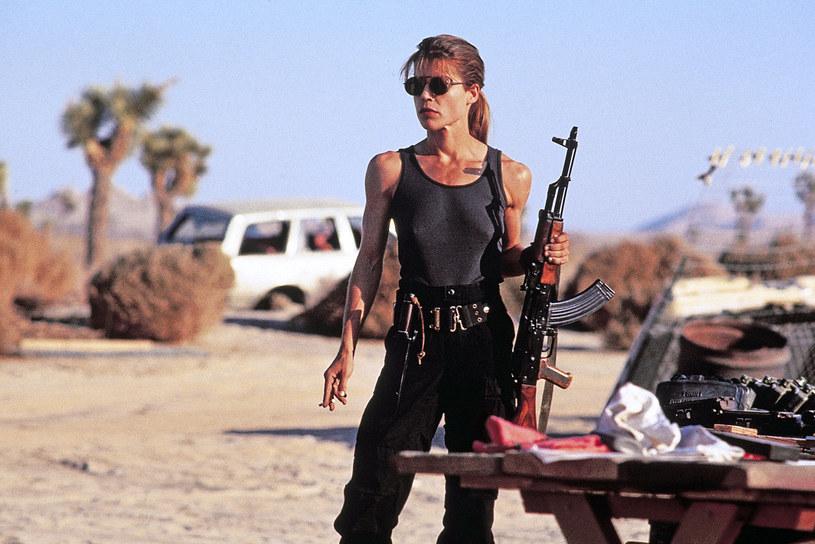 Linda Hamilton jako Sarah Connor /AKPA