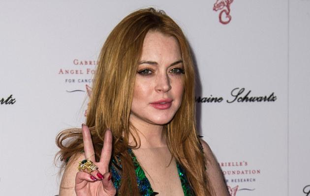 Lindsay Lohan chodziła nago po sklepie! /Ian Gavan /Getty Images
