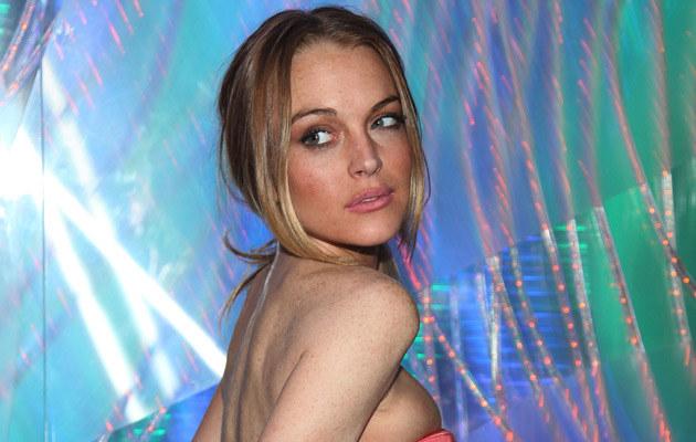 Lindsay Lohan, fot. Astrid Stawiarz  /Getty Images/Flash Press Media