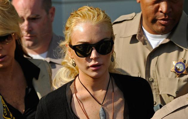 Lindsay Lohan, fot.Kevork Djansezian  /Getty Images/Flash Press Media
