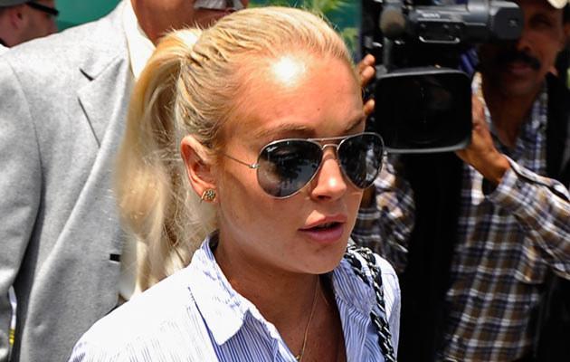 Lindsay Lohan, fot.  Kevork Djansezian  /Getty Images/Flash Press Media