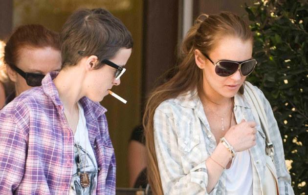Lindsay Lohan i Samantha Ronson  /Splashnews