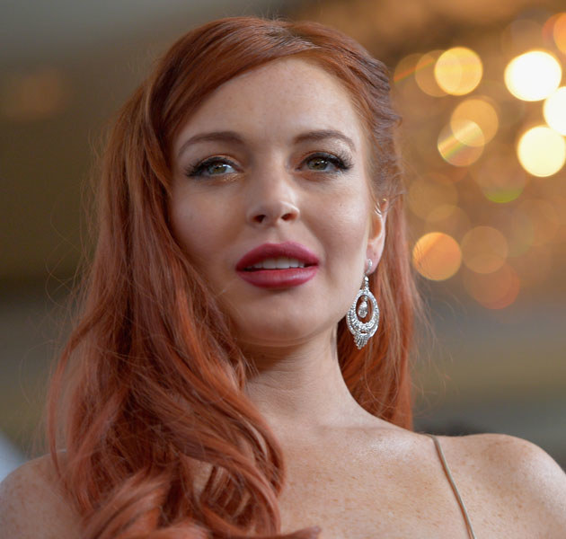 Lindsay Lohan ma dopiero 26 lat, ale już zdążyła się oszpecić licznymi operacjami plastycznymi /Charley Gallay /Getty Images