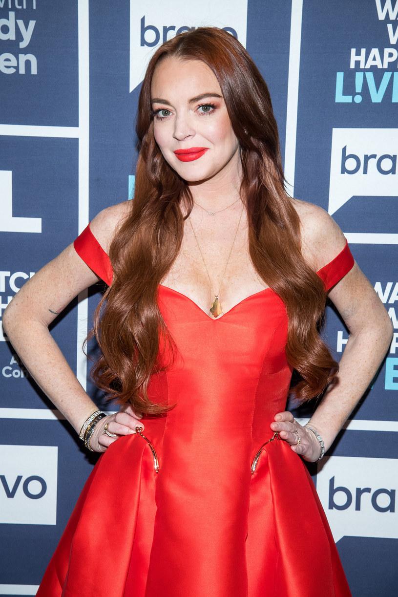 Lindsay Lohan na gali w styczniu 2019 roku /NBCUniversal /Getty Images