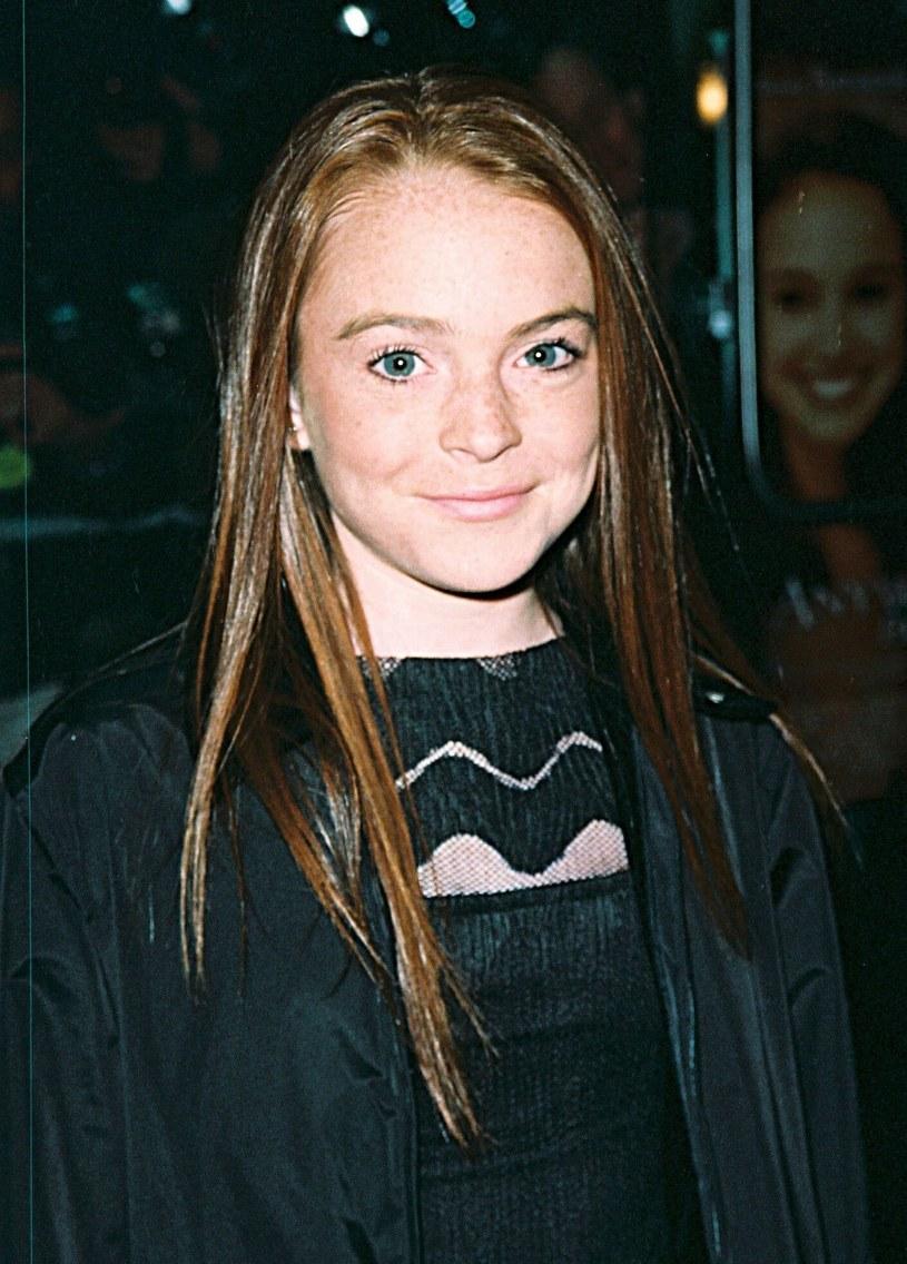 "Lindsay Lohan na premierze ""Anywhere But Here"" w 1999 roku /Matt Baron/BEI/REX /East News"