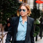 Lindsay Lohan nieźle przytyła!