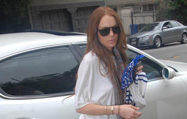 Lindsay Lohan odwiedza eks 24 kwietnia  /Splashnews