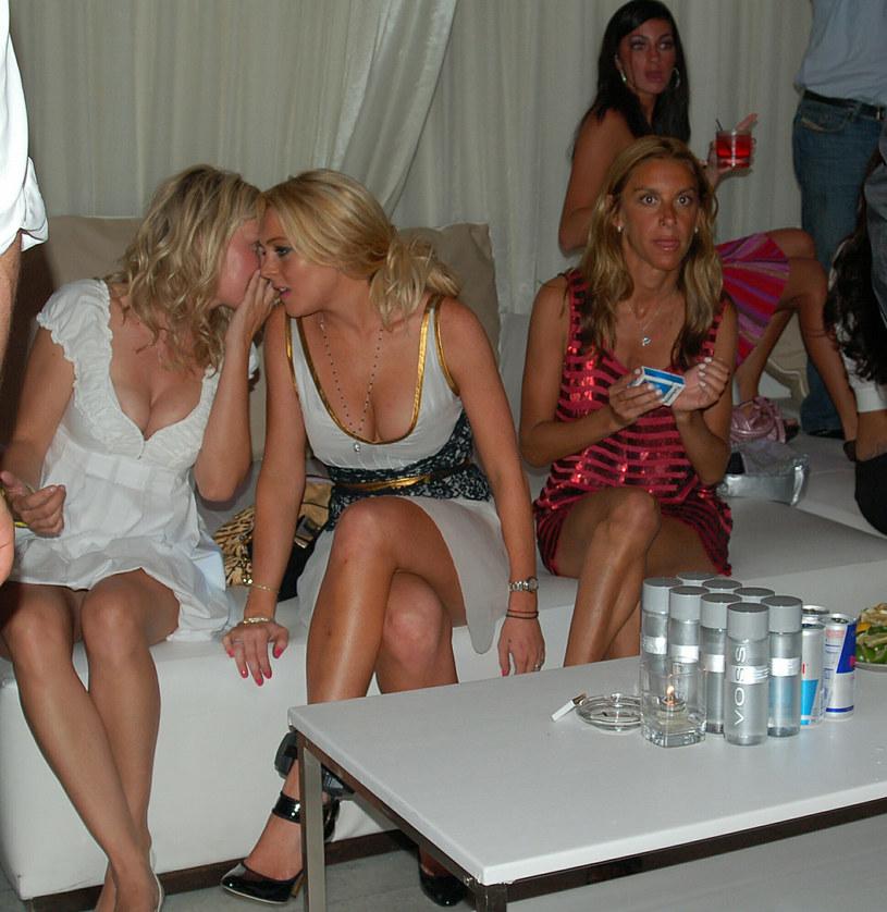 Lindsay Lohan pijana na imprezie w 2007 roku /SplashNews.com /East News