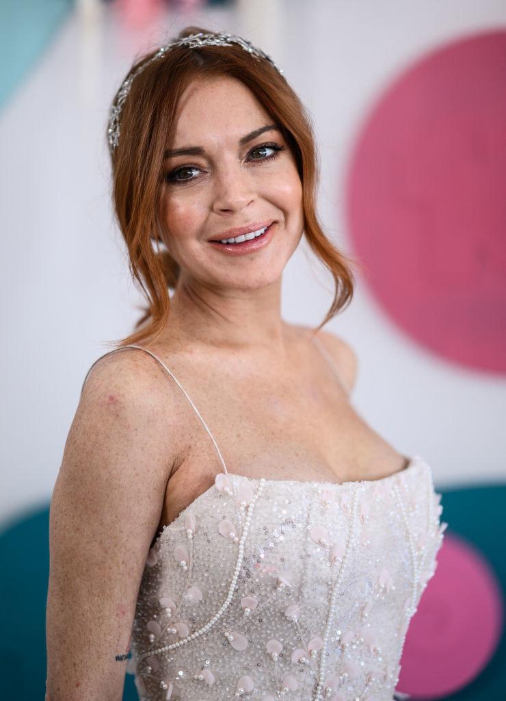Lindsay Lohan przesadziła z poprawianiem urody? /James Gourley / Stringer /Getty Images
