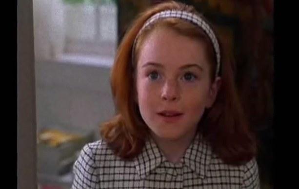 Lindsay Lohan w młodości... /YouTube