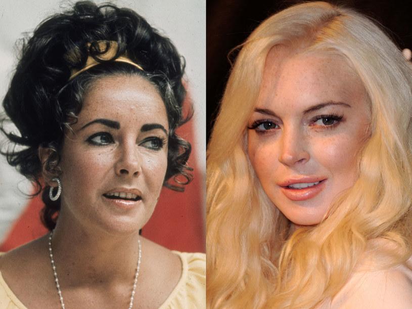 Lindsay Lohan wcieli się w rolę Elizabeth Tylor /Getty Images