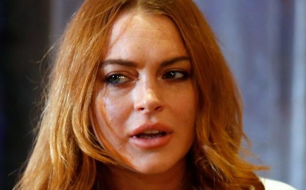 Lindsay Lohan /- /Getty Images