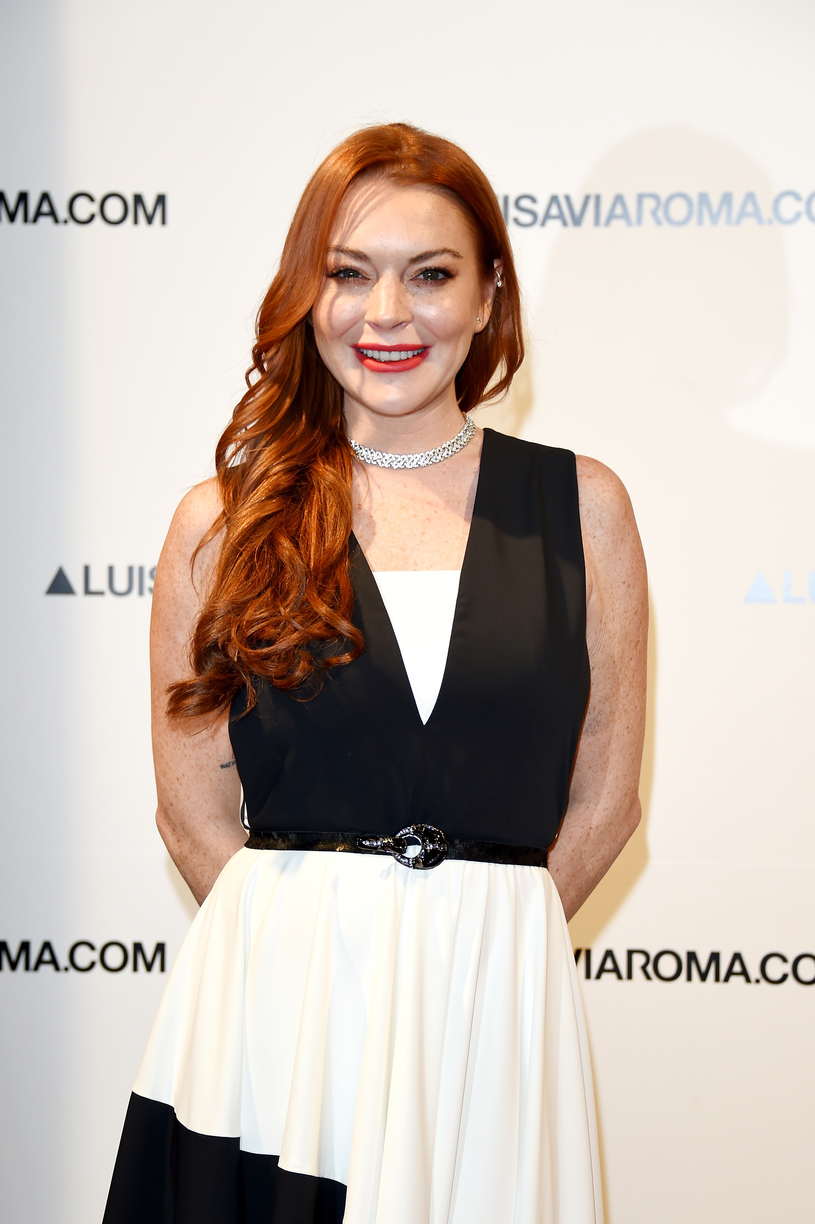 Lindsay Lohan /Stefania D'Alessandro /Getty Images