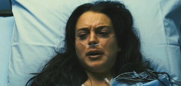 """Lindsay w swoim najnowszym (i najgorszym) filmie """"I Know Who Killed Me""""  /Splashnews"""