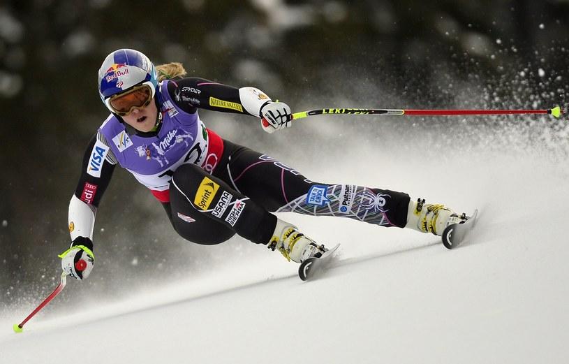 Lindsey Vonn podczas supergiganta /AFP