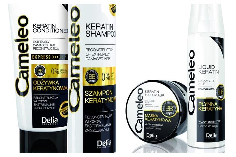 Linia Cameleo Beauty Balm for Hair /Styl.pl/materiały prasowe