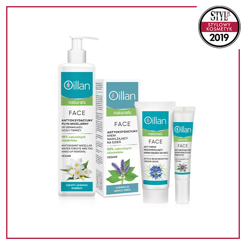 Linia dermokosmetyków dla skóry suchej, Oillan Naturals /Styl.pl