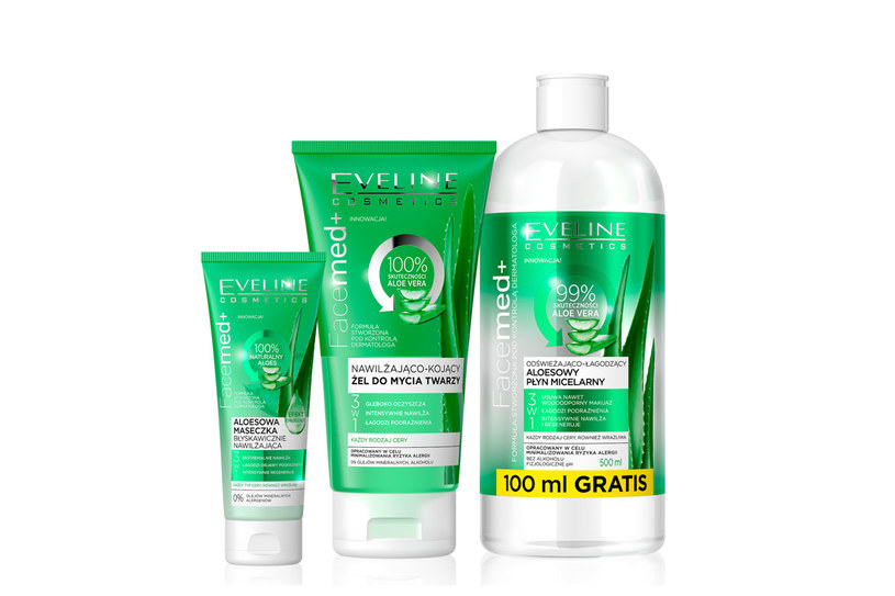 Linia Facemed+ Eveline Cosmetics /materiały prasowe