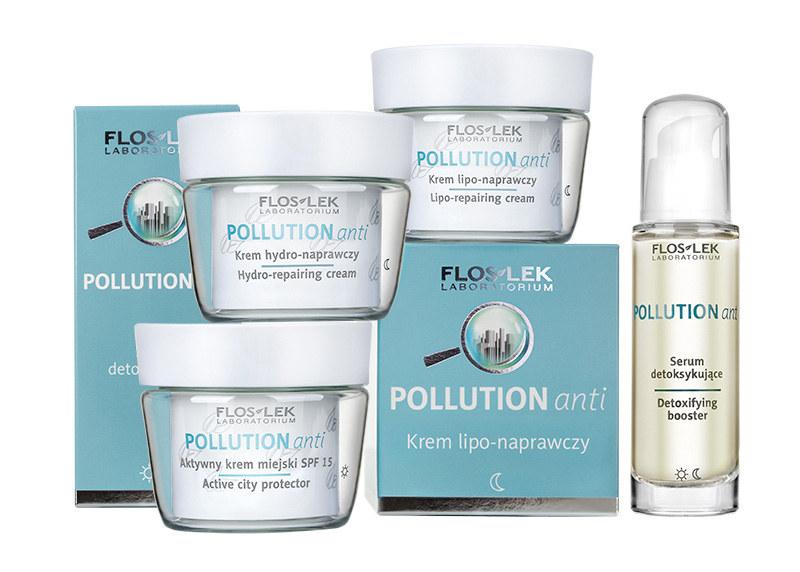 Linia kosmetyków Floslek Pollution Anti /materiały prasowe