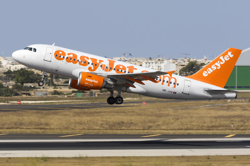 Linia lotnicza easyJet została ofiarą cyberataku /123RF/PICSEL