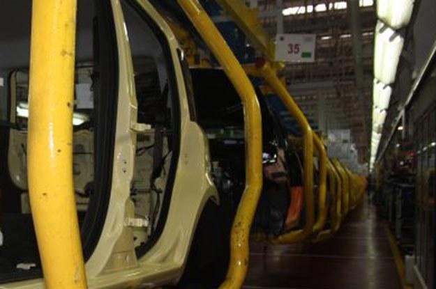 Linia montażowa fabryki Fiata w Tychach /INTERIA.PL