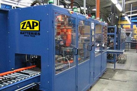 Linia produkcyjna ZAP Sznajder Batterien S.A. /