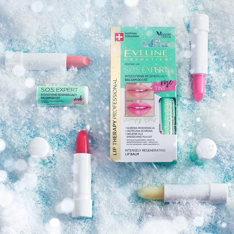 Linia S.O.S. Expert od Eveline Cosmetics /INTERIA.PL/materiały prasowe