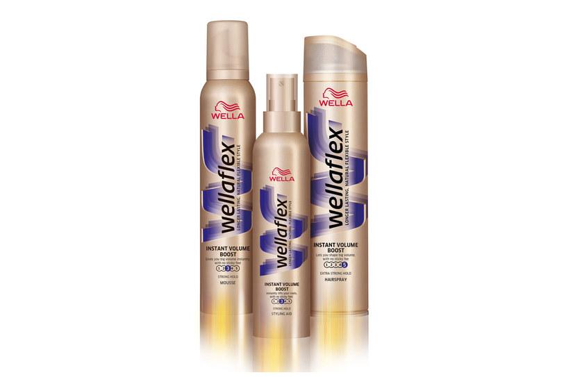 Linia Wellaflex Instant Volume Boost /materiały prasowe