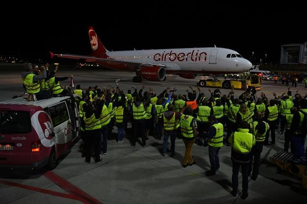 Linie lotnicze Air Berlin zakończyły działalność. Fot. CHRISTOF STACHE/CS /AFP