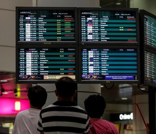 Linie lotnicze będą omijać wschodnią Ukrainę